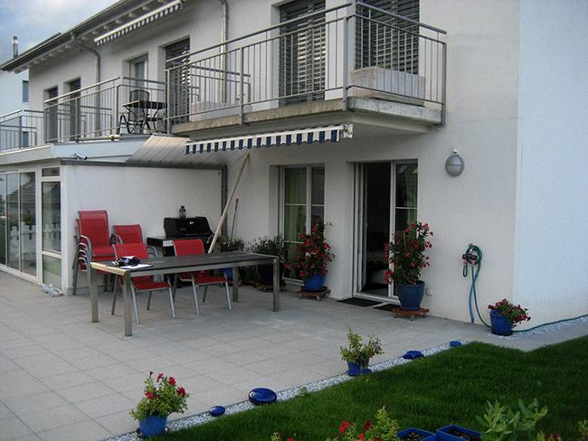 Alu Kaupp - Sitzplatzüberdachung