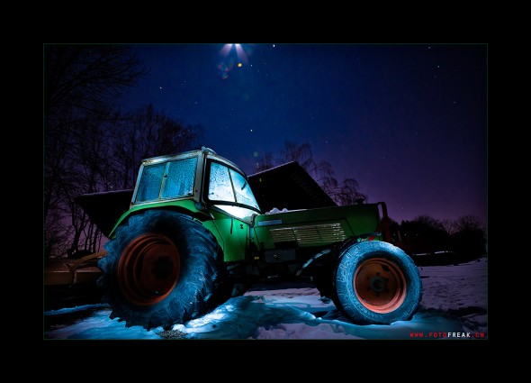 Traktor - by Night