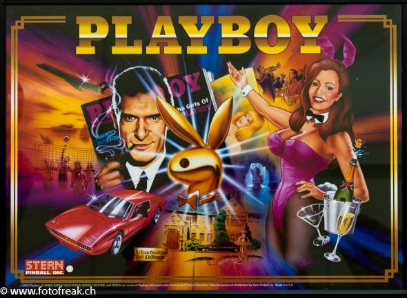 Stern Pinball Playboy - Flipperkasten