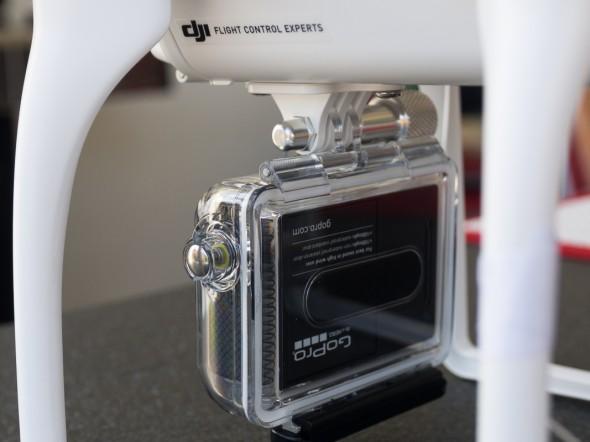 DJI Phantom Quadrokopter mit GoPro 3