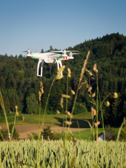 DJI Phantom Drohne - Bedrohung von Oben?