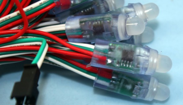 WS2811 / WS2801 RGB LED