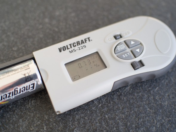 Batterietester Voltcraft