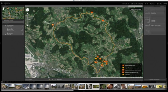 Adobe Lightroom GPS Tracking