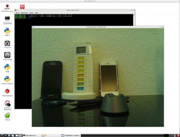 Filmen und fotografieren mit der Raspberry Pi Cam