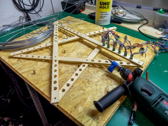 Prototyping - RGB LED Sterne