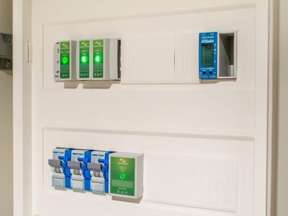 digitalSTROM - Server, Filter und Meter im Stromtableau