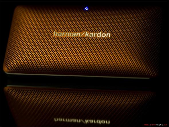 harman/kardon weiss was Design heisst. Dem schönen Design entsprechende hohe Verarbeitungsqualität.