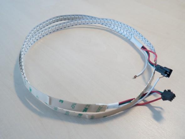 WS2812 - RGB LED Stripe mit 144 LED pro Meter