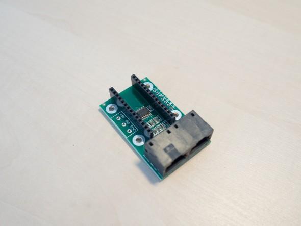 Anschlussadapter und Spannungsstabilisierung für Teensy 3.1/3.2 und WS2811 oder WS2812 LED