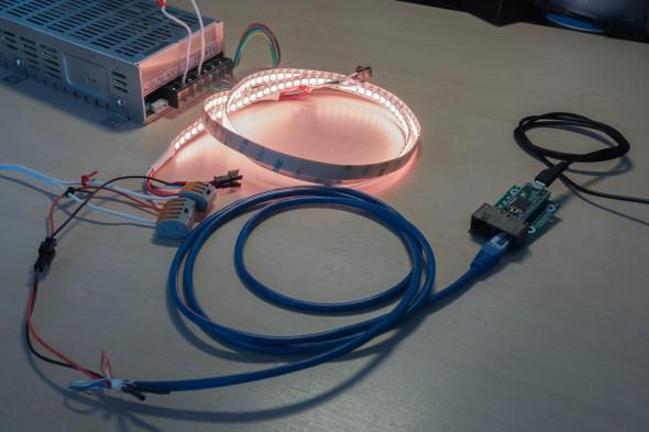 Farbwechsel - WS2812 mit 144 LED und Teensy 3.1