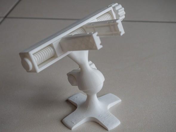 3D gedruckter Schraubstock für Printplatten
