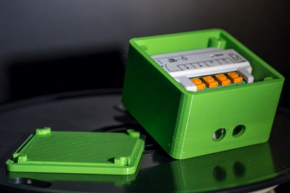 3D Print Gehäuse für Homematic Schaltaktor