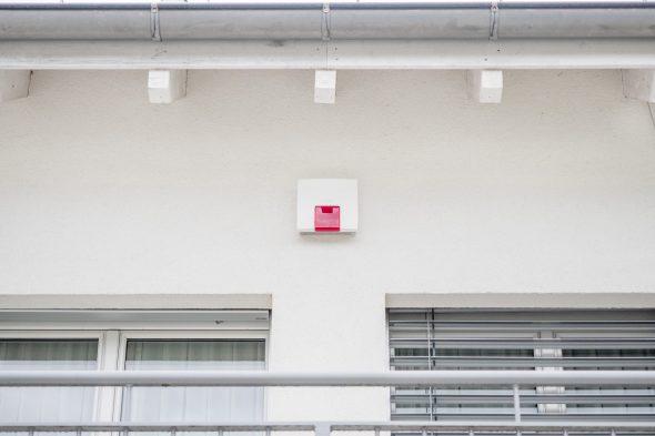 Daitem D22 - SH425AX mit Blitzlampe Rot und Sprachausgabe