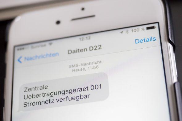Daitem D22 - Alarmierung per SMS dank Internet und GSM Erschliessung