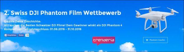Trenderia Futuretrends - DJI Phantom Film Wettbewerb 2016
