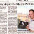 Tagesanzeiger Bericht über Lufingen Webcam